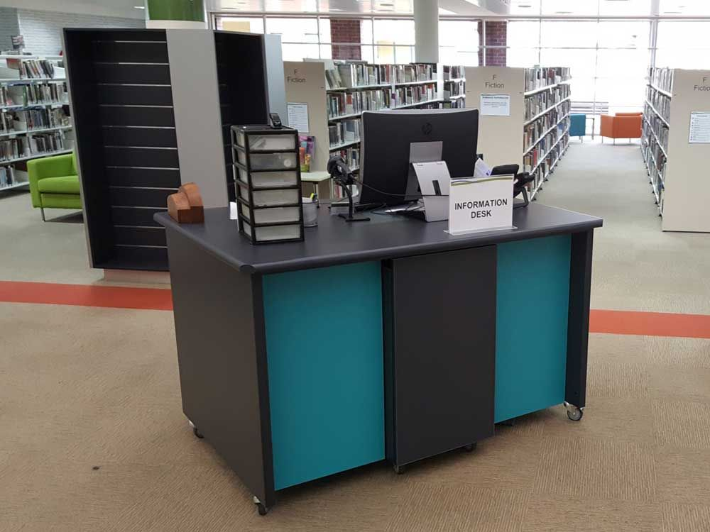 Commercial Shopfitting - Library Fitout, Windsor, Hawkesbury, Western Sydney
