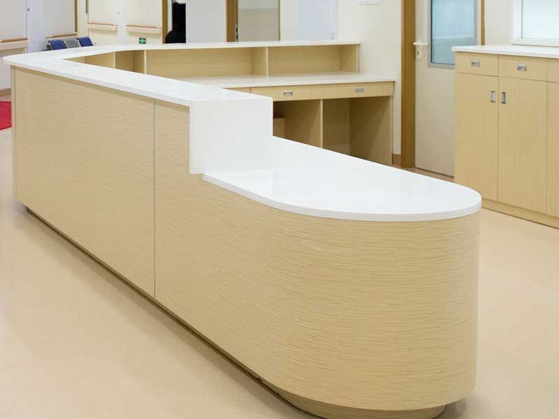 Ace Fitouts - The Professionals Reception Fitout Joinery - Sydney